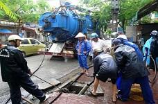Nạo vét cống quận Phú Nhuận
