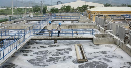 Xử lý nước thải ở khu công nghiệp