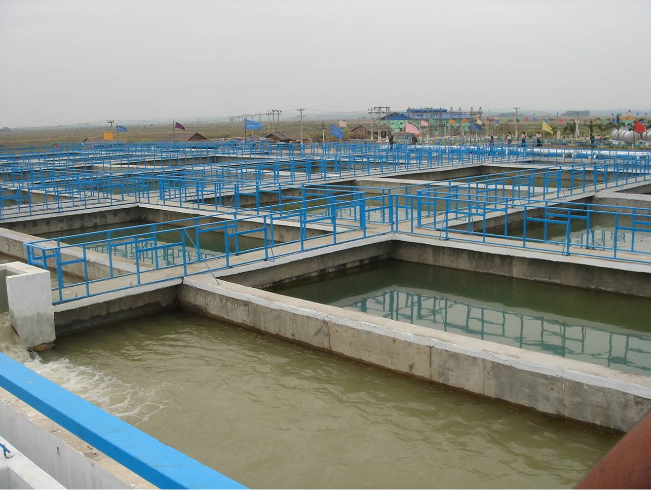 Xử lý nước thải trong chế biến thủy sản